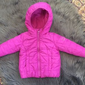 Baby Gap Girl Size 12-18 Months Puffer Jacket